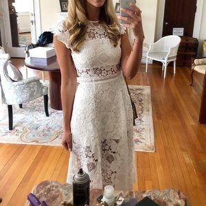 Karina Grimaldi Dresses - Karina Grimaldi Lace Midi Dress